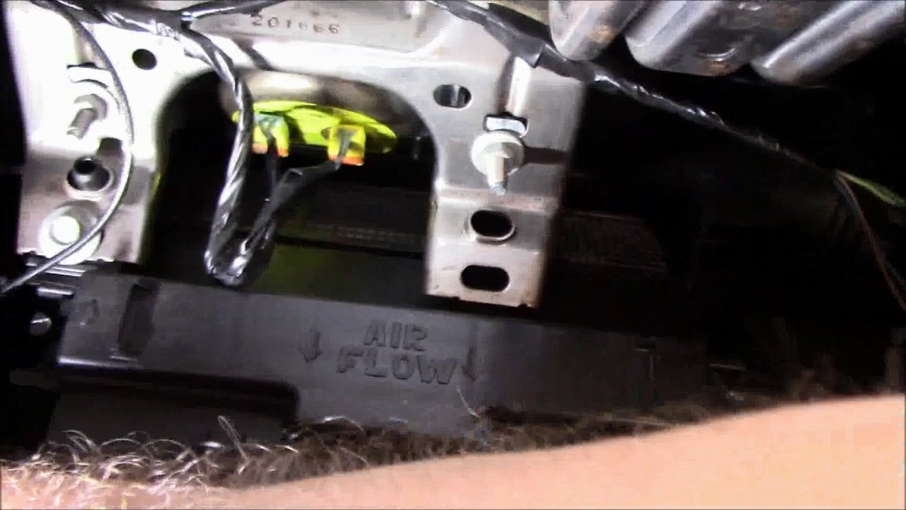 replacement of heat ac actuator on 2011 chrysler 200 [ 1280 x 720 Pixel ]