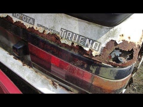 A junk Hachiroku: Toyota Sprinter Trueno GT-APEX AE86