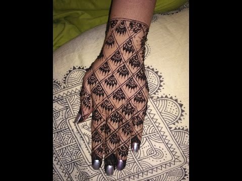 Elegant New Latest Arabic  Heena Mehndi  Beautifull Mehndi  Designs For Back Hands 2017  Avni