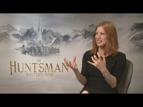 The Huntsman: Jessica Chastain hates kissing jerks