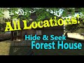CS:GO Seek Forest House All Locations, Secrets, and Hidden Areas!