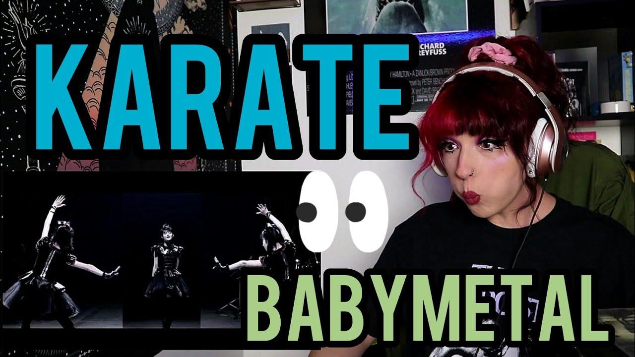 """REACTION   BABYMETAL """"KARATE"""""""