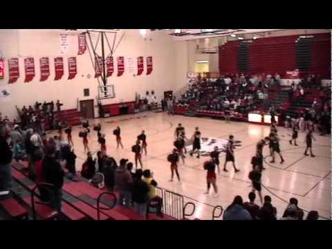 North Knox High School Cheerleaders Fight Song