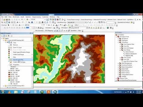 GIS And TIN || DEM To TIN In GIS || RASTER To TIN  In GIS || Ground Surface Representation In GIS