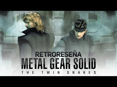 Retro Reseña MGS The Twin Snakes (GameCube)