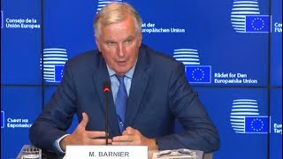 Michel Barnier: EU is ready to speed up Brexit negotiations (17 Oct 2017)