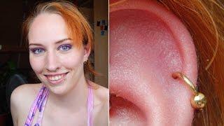 Piercings: How I change jewellery on my helix