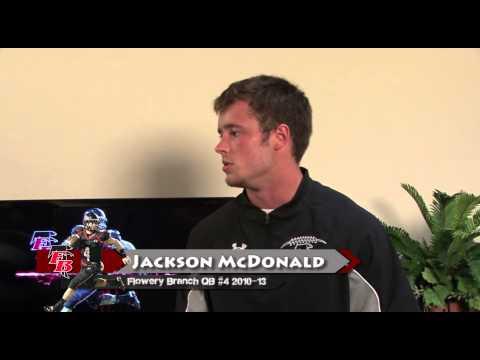 Former Flowery Branch QB Jackson McDonald on BLITZ