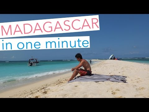 Madagascar - in one minute -