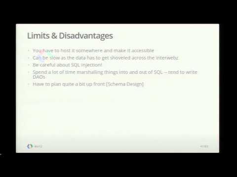 Google I/O 2012 - Storing Data in Google Apps Script