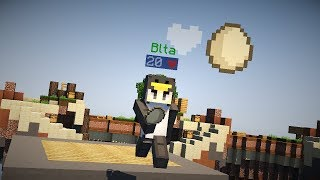 Playing DODGEBALL in HYPIXEL SKYWARS! [ft. Zyphalopagus] (Hypixel Skywars Challenge)
