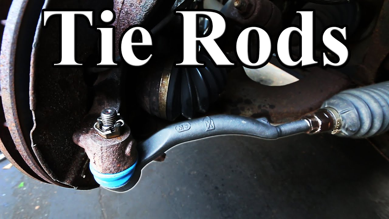 how to replace an outer tie rod end [ 1280 x 720 Pixel ]