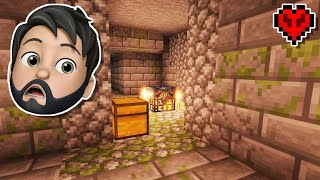There's A DUNGEON INSIDE MY STRONGHOLD In Minecraft Hardcore!!