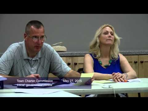 Public Hearing, Town Charter Govt Review May 27, 2015