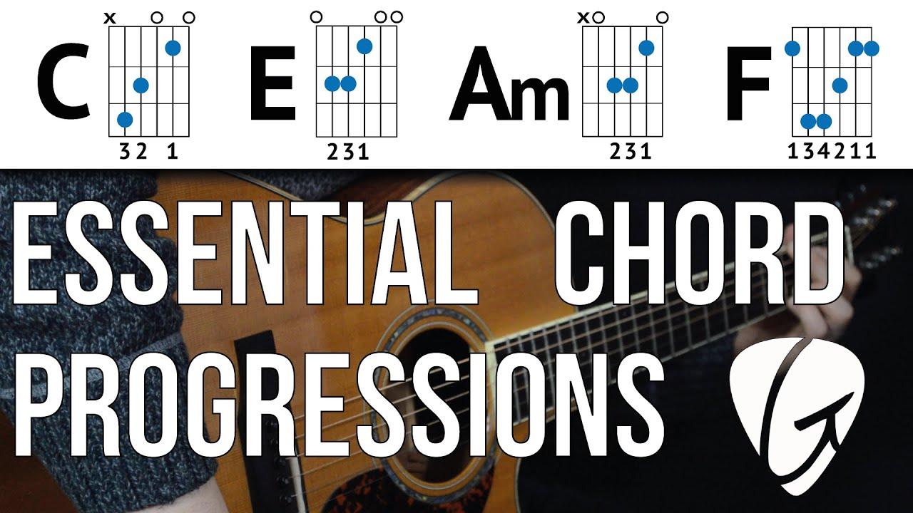 Chord Progression Practice C E Am F Youtube