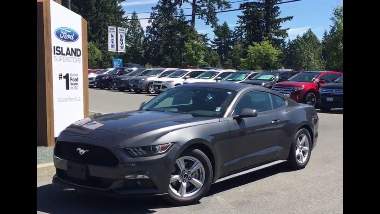 2017 Ford Mustang V6 Fastback Backup Camera Review Island