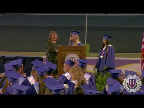 Hallsville High School Commencement Exercises 2018