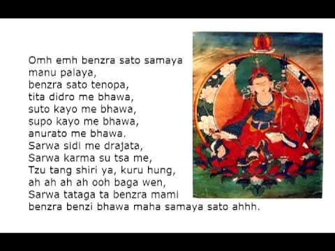 Vajrasattva Mantra 100 silabas (28 veces)