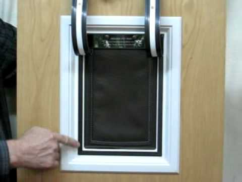 The Ultimate Magnetic Dog Door Features New Air Sealing Technology