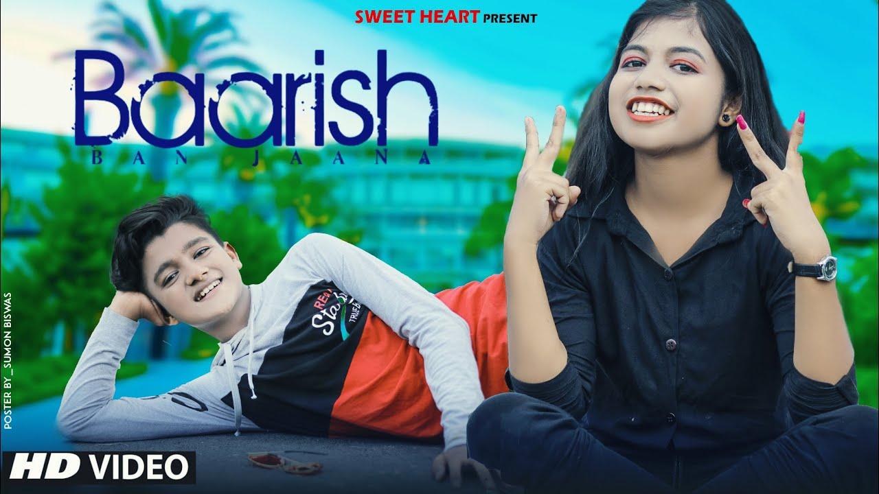 Baarish Ban Jaana | Jab Mai Badal Ban Jau | Esmile new video  | Cute love story  | Sweet Heart |
