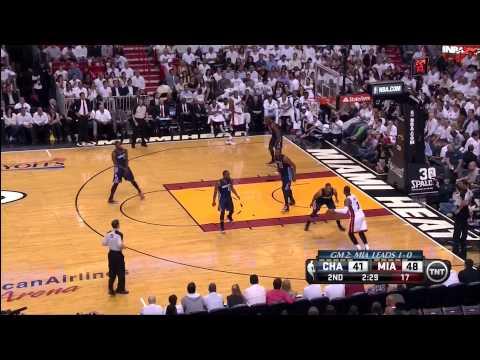April 23, 2014 - TNT - Playoffs Rd.1 Game 02 Miami Heat Vs Charlotte Bobcats - Win (02-00)
