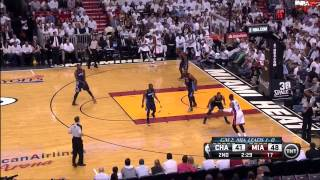April 23, 2014 - TNT - Playoffs Rd.1 Game 02 Miami Heat Vs Charlotte Bobcats - Win (02-00)