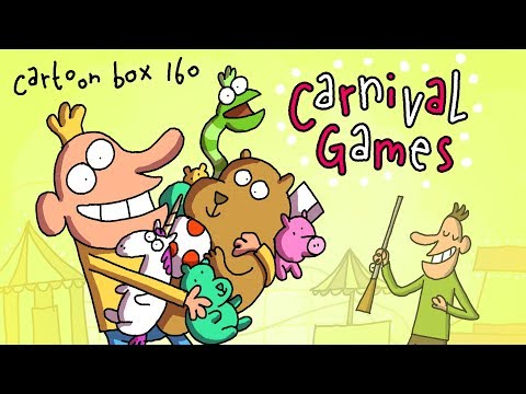 Carnival Games | Cartoon Box 160 | By FRAME ORDER | Dark Comedy Cartoons