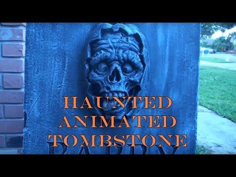 Halloween Restless Tombstone Deer Motor Prop