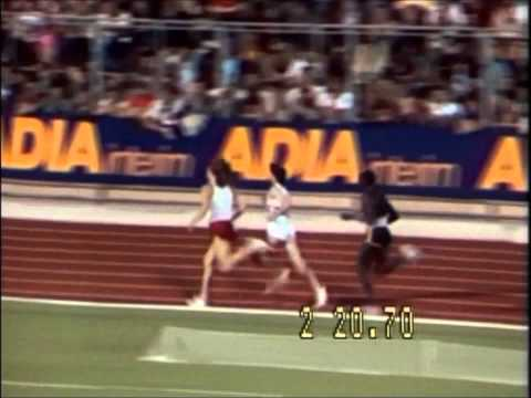 Mile WR:Seb Coe,1981,Zurich