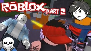 Surviving the Zombies | Sans plays Roblox with Viewers part 2