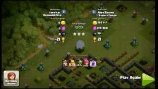Clash of Clans - Daily Replay - Episode 1 - high loot farming raid