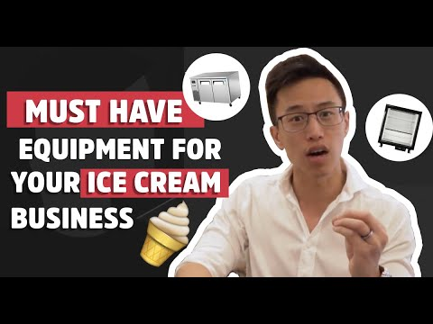 MUST HAVE Equipment For Your Ice Cream Business In 2020 | Restaurant Management Food & Beverage Tips