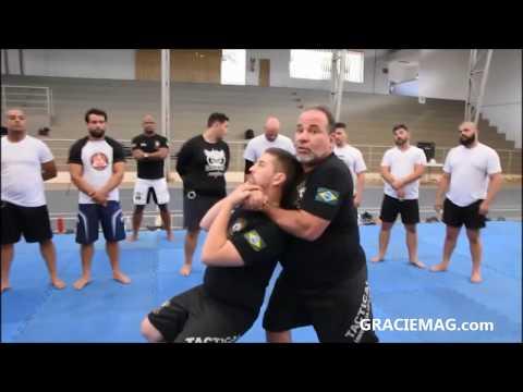 Paulo Peposo ensina imobilização do Jiu-Jitsu para policiais em Minas Gerais