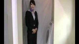 はるやまの「洗えるスーツ」の洗濯方法、お手入れの仕方を動画で紹介.