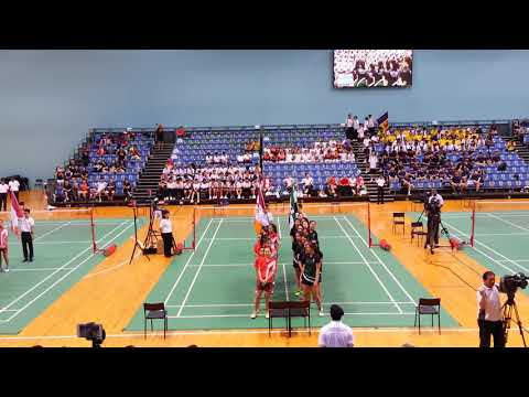 NSG Badminton Final 2018 - all Sport Athlete march in ceremony