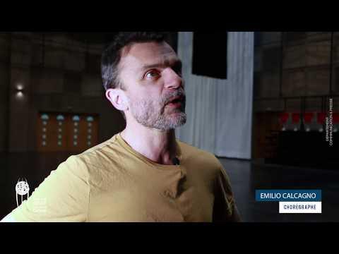 Le chorégraphe Emilio Calcagno  parle  du ballet « Les quatre saisons » réalisé en résidence à Tunis