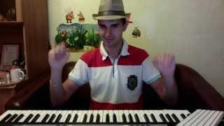 Мой первый урок на синтезаторе