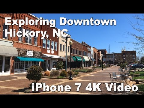 Hickory NC Downtown Scenes - Olde Hickory Station Restaurant