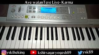 Dil Diya Hai Jaan Bhi Denge- Karma (Full Tutorial)