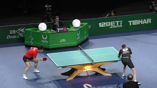 2018 ITTF Team World Cup - Fan Zhendong v Pitchford Liam (private recording)