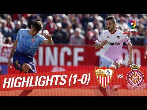 Resumen de Sevilla FC vs Girona FC (1-0)