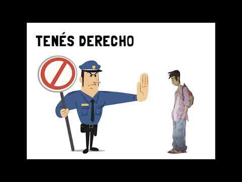 Vidéo: Tus Derechos Civiles Ante La Autoridad Policial...