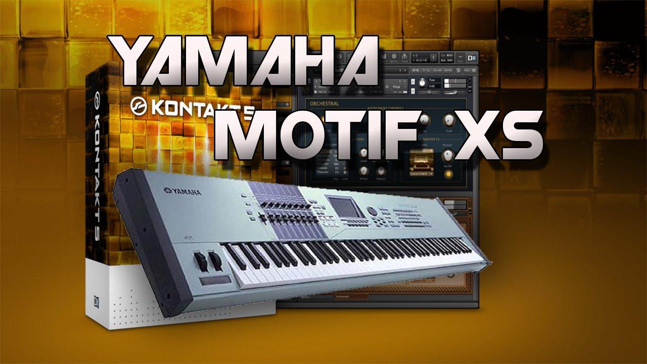 LIBRERIA DE YAMAHA MOTIF XS PARA KONTAKT 5 | 1 LINK