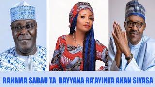 A Karon Farko Rahama Sadau Ta Bayyana Ra39ayinta Akan Siyasa  Kannywood News  HausaTop News
