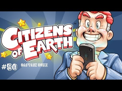 Let's Play Citizens of Earth Blind! 50: Captain Buzz |