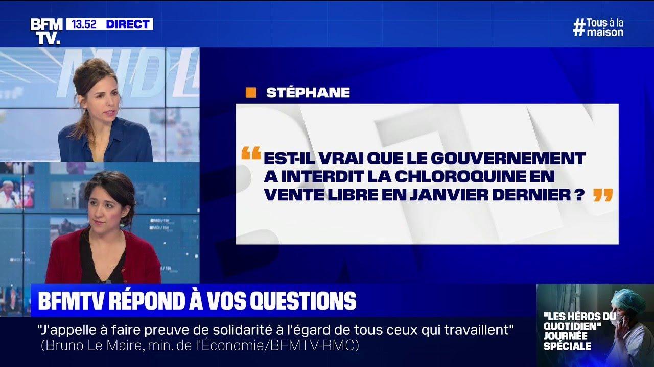 Le gouvernement a-t-il interdit la vente libre de la chloroquine en janvier ?