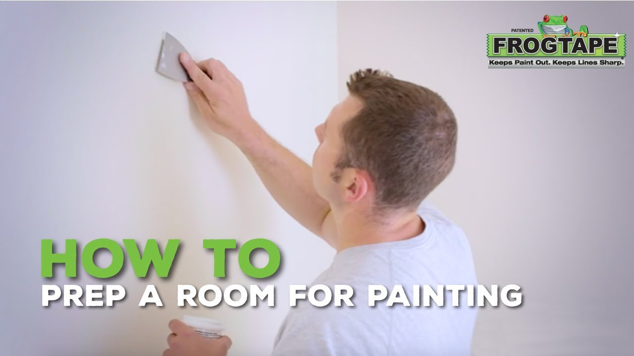 How To Prep A Room For Painting Youtube