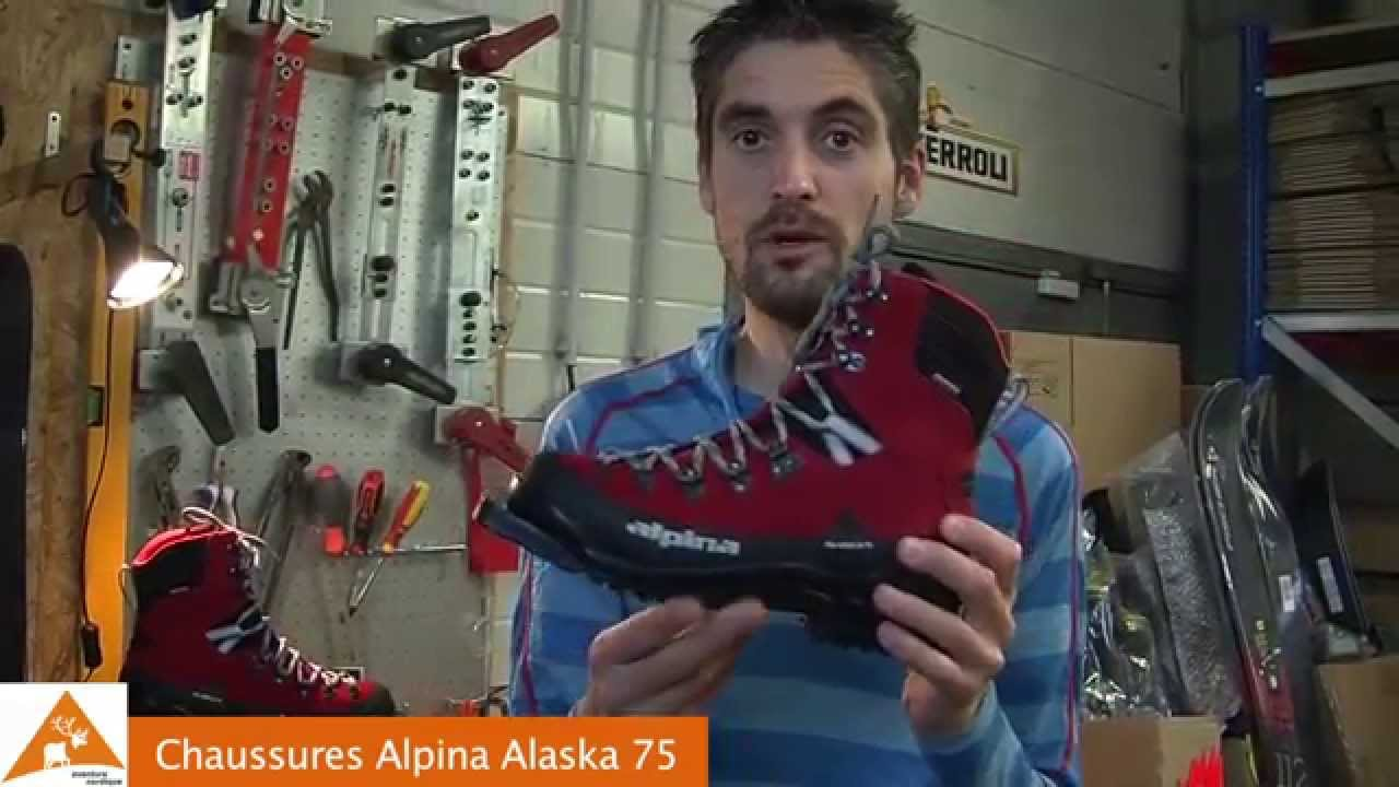 Chaussures Alpina Alaska YouTube - Alpina alaska