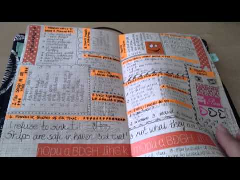 Mein all in one Bullet Journal (deutsch)