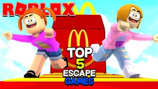 Top 5 Roblox Escape Games This Week!
